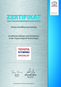 TOYOTA Hybrid Spezialist